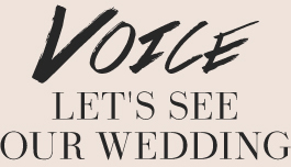 VOICE/LET'S SEE OUR WEDDING